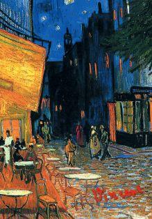 Обложка для паспорта. Ван Гог. Ночное кафе (Арте)