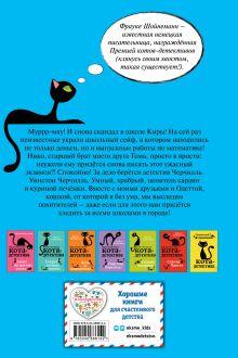 Обложка сзади Загадка сбежавшего сейфа (#3) Фрауке Шойнеманн