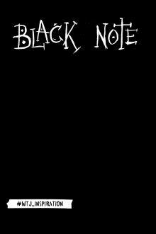 Комплект. Black Note. Креативный блокнот с черными страницами + Комплект из 2-х белых ручек и белого карандаша WTJ_INSPIRATION