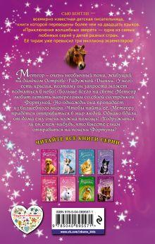Обложка сзади Волшебный пони, или Вперёд, Метеор! (выпуск 7) Сью Бентли