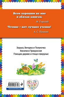 Обложка сзади Василиса Прекрасная: волшебные русские сказки