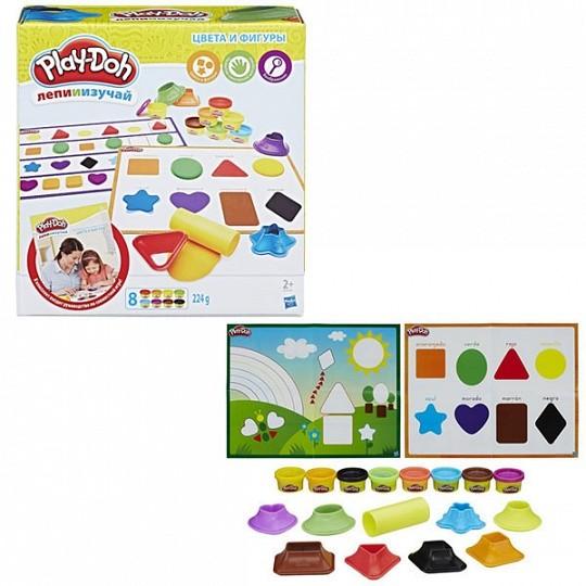 """Play-Doh Игровой набор """"Цвета и формы"""" (B3404)"""