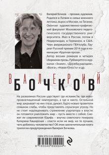 Обложка сзади Брат мой Каин Валерий Бочков