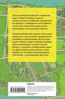 Обложка сзади Старый Петербург пешком Евгений Голомолзин