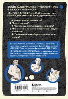Обложка сзади Философия в комиксах Дэйв Робинсон, Джуди Грувс