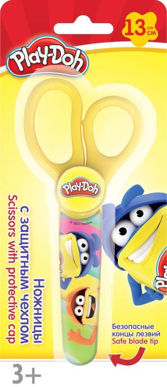 PDEB-US2-SC131Q-BL1 Ножницы. 13 см, 1 шт. в чехле.Размер: 18,5 х 8 х 1,5 см. Play Doh