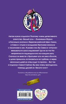 Обложка сзади Ловушка на жадину Илона Волынская, Кирилл Кащеев