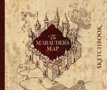 Скетчбук. Гарри Поттер. Карта мародеров (твердый переплет, 96 стр., 240х200 мм)