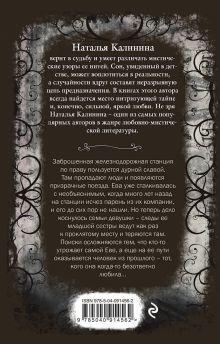Обложка сзади Станция похищенных душ Наталья Калинина