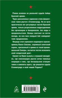 Обложка сзади На подступах к Сталинграду Александр Филичкин