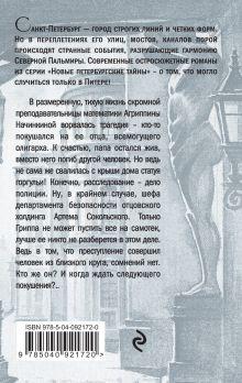 Обложка сзади Дама с горгульей Юлия Алейникова
