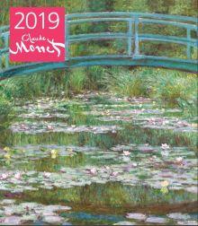 Обложка Клод Моне. Календарь настенный на 2019 год