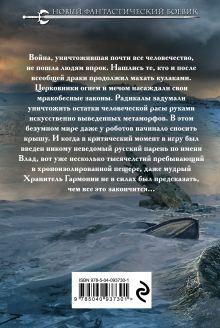 Обложка сзади Холод юга Артем Каменистый