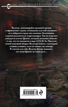 Обложка сзади S-T-I-K-S. Вальтер Денис Владимиров
