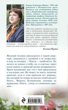Обложка сзади Нет рецепта для любви Евгения Перова