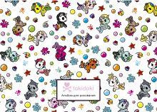 Обложка Вселенная tokidoki. Единорожки. Альбом для рисования (формат А4, офсет 160 гр., 50 страниц, евроспираль, с заданиями)