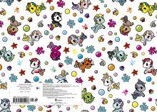 Обложка сзади Вселенная tokidoki. Единорожки. Альбом для рисования (формат А4, офсет 160 гр., 50 страниц, евроспираль, с заданиями)