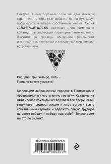 Обложка сзади Город мертвых отражений Наталья Тимошенко, Лена Обухова