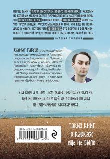 Обложка сзади Холодный день на солнце Азамат Габуев