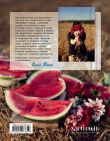 Обложка сзади Лето на десерт Тата Червонная