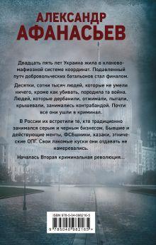 Обложка сзади Оккупация Александр Афанасьев