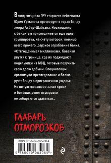 Обложка сзади Главарь отморозков Сергей Самаров