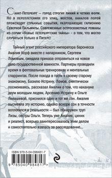 Обложка сзади Зеркало сновидений Валерия Вербинина