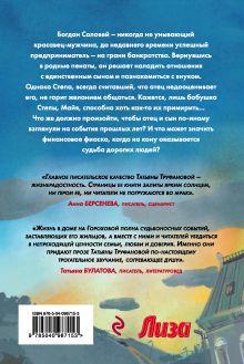 Обложка сзади Лето радужных надежд Татьяна Труфанова