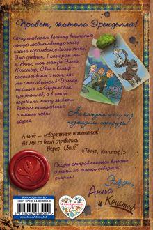 Обложка сзади Дневник приключений Эльзы, Анны и Кристофа