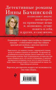 Обложка сзади Отражение бабочки Инна Бачинская