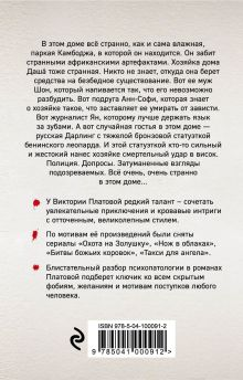 Обложка сзади Странное происшествие в сезон дождей Виктория Платова