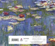 Обложка сзади Скетчбук. Клод Моне (твёрдый переплёт, 96 стр., 240х200 мм)