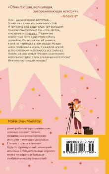 Обложка сзади Сумасшедшая любовь Мэри Энн Марлоу