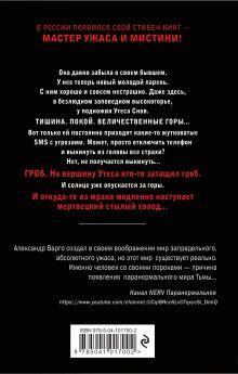 Обложка сзади Плохая шутка Александр Варго, Иван Миронов
