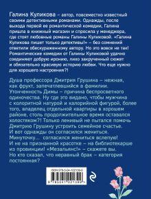 Обложка сзади Соблазнить холостяка Галина Куликова