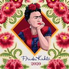 Фрида Кало. Календарь настенный на 2020 год (300х300 мм)