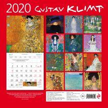 Обложка сзади Густав Климт. Календарь настенный на 2020 год (300х300 мм)