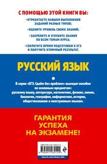 Обложка сзади ЕГЭ-2020. Русский язык А. Ю. Бисеров, И. Б. Маслова