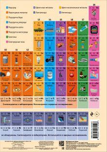 Обложка Периодическая таблица химических элементов: наглядное пособие