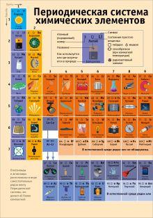 Обложка сзади Периодическая таблица химических элементов: наглядное пособие