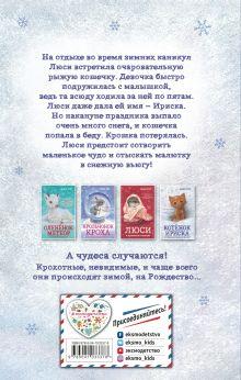 Обложка сзади Котёнок Ириска и снежное приключение! (#4) Анна Бус