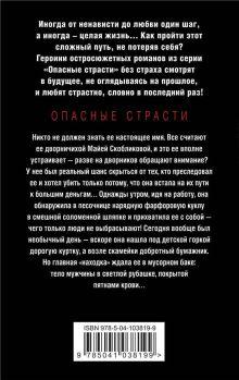 Обложка сзади Невидимые тени Алла Полянская