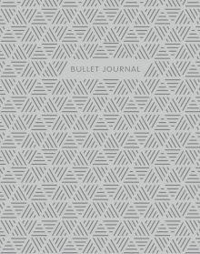 Bullet Journal (Стальной) 162x210мм, твердая обложка, пружина, блокнот в точку, 120 стр.