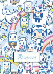 Обложка tokidoki. Молочко. Тетрадь (А5, 48 л., УФ-лак, накидки)