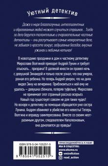 Обложка сзади Туфелька для призрака Наталия Антонова