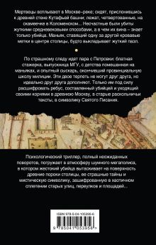 Обложка сзади Призрак Небесного Иерусалима Дарья Дезомбре