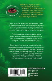 Обложка сзади Знак бабочки Галина Ларская