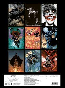 Обложка сзади Бэтмен. Постер-бук (9 шт.)