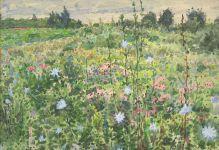 Скетчбук. Весенние цветы (формат В5, 128 стр, открытый корешок, бумага слоновая кость)