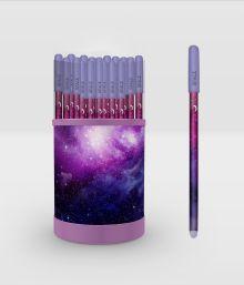 Space. Ручка в тубусе (темная)